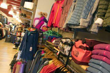 Outdoor kledingwinkel